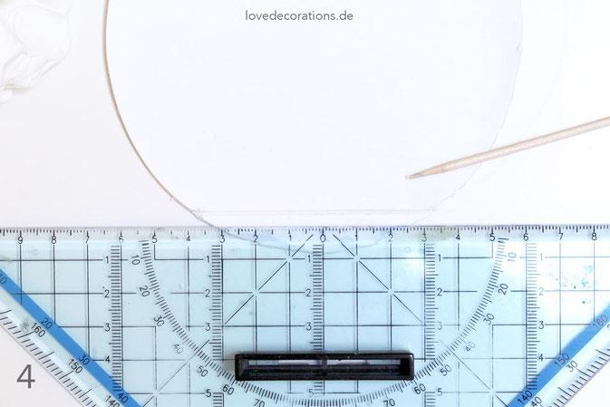 DIY Eiswaffeln aus Fimo - Schritt 4