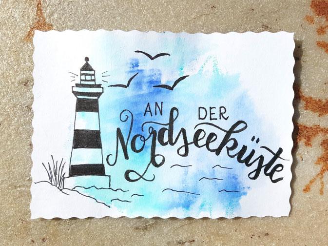 Letter Lovers fraulitzi: Handlettering an der Nordseeküste
