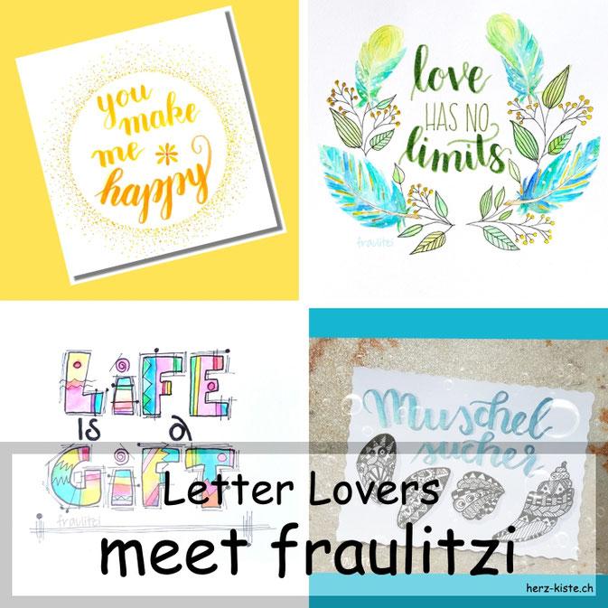 Letter Lovers in der Herz-Kiste: fraulitzi zu Gast