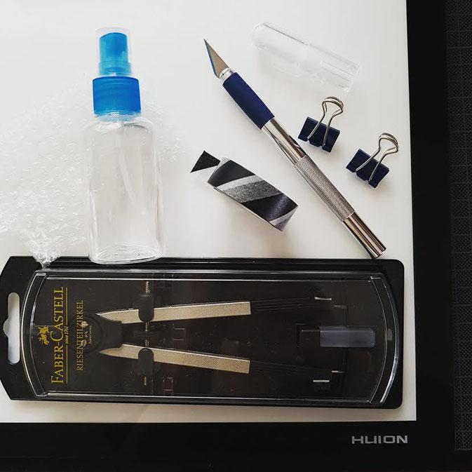 Letter Lovers: Pikkablue zeigt ihre Ausrüstung fürs Handlettering
