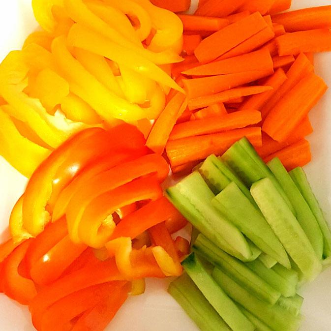 12 von 12 September - Gemüsedip als Stärkung