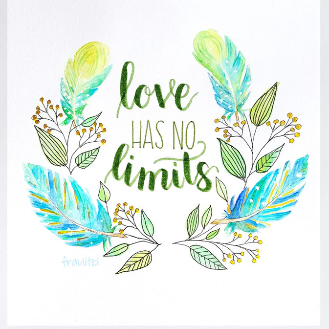 Letter Lovers fraulitzi: Handlettering Love has no limits