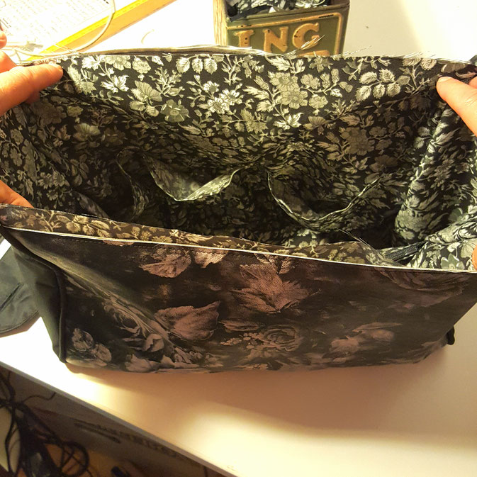 12 von 12 September - meine neue Handtasche ist schon fast fertig