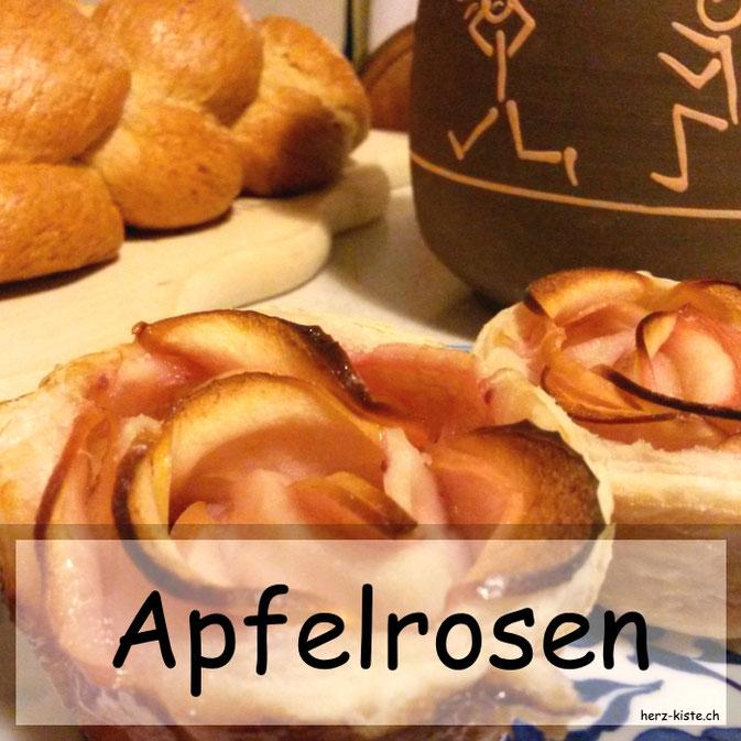 Rezept für Apfelrosen
