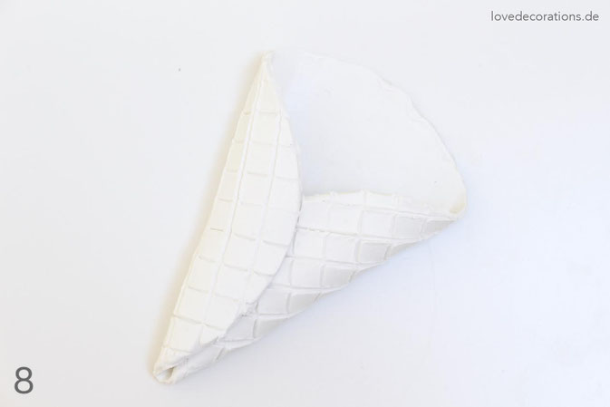 DIY Eiswaffeln aus Fimo - Schritt 8