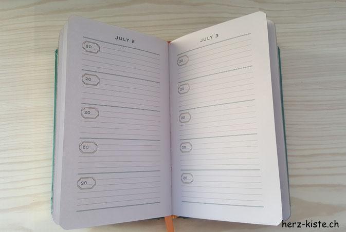 One Line a day - ein kurz-Tagebuch über 5 Jahre