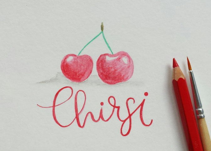 Letter Lovers letter.your.mind: Handlettering Chirsi