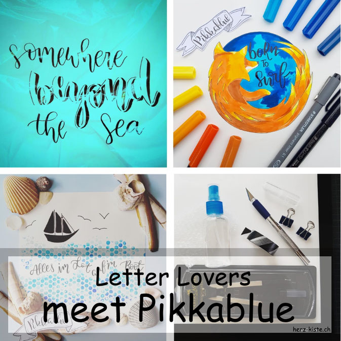 Letter Lovers in der Herz-Kiste: meet Pikkablue