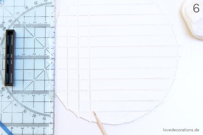 DIY Eiswaffeln aus Fimo - Schritt 6
