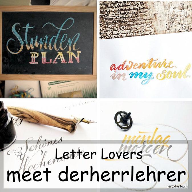 Letter Lovers in der Herz-Kiste: derherrlehrer zu Gast