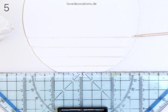 DIY Eiswaffeln aus Fimo - Schritt 5