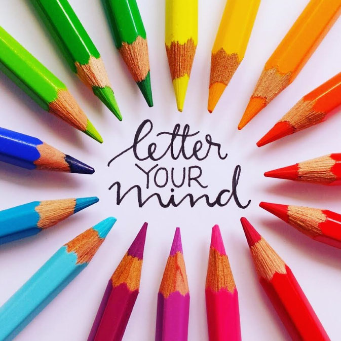 Letter Lovers letter.your.mind: Handlettering letter your mind