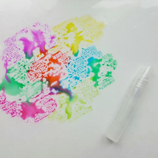 Letter Lovers larakraft - Hintergrund mit Tombow Dual Brush Pens