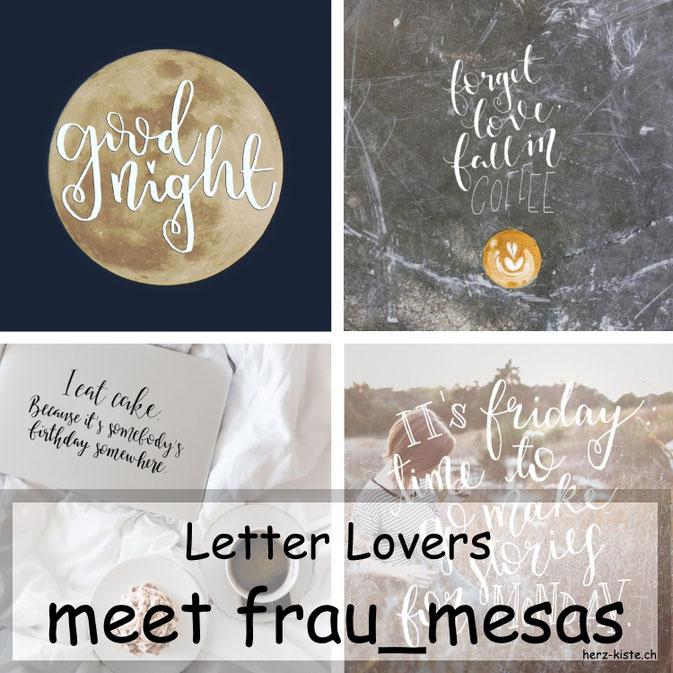 Letter Lovers in der Herz-Kiste: frau_mesas zu Gast