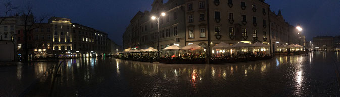 Place du marché principal de Cracovie