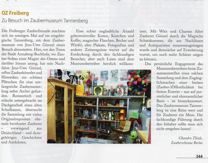 Quelle: Fachzeitung Magie des MZvD Heft 6/7 - 2017