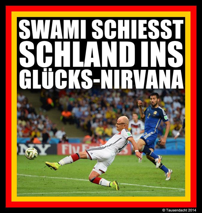 Schland und Swami Fußball-Weltmeister 2014!