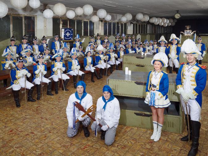 Die Prinzengarde im Jahr 2013