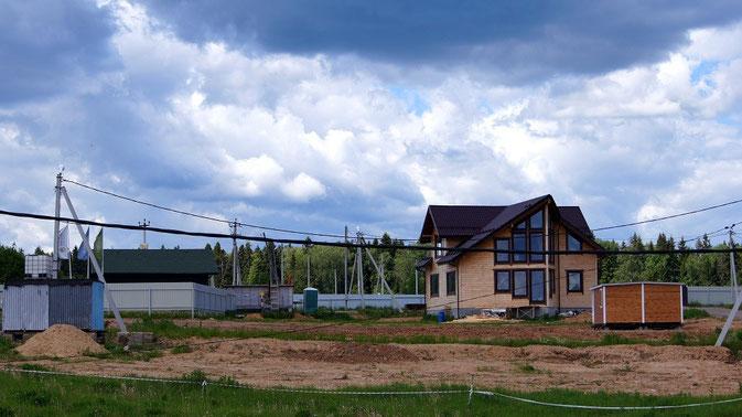 дачный поселок никитское, земельные участки без подряда и дома, новорижское шоссе, истринское водохранилище