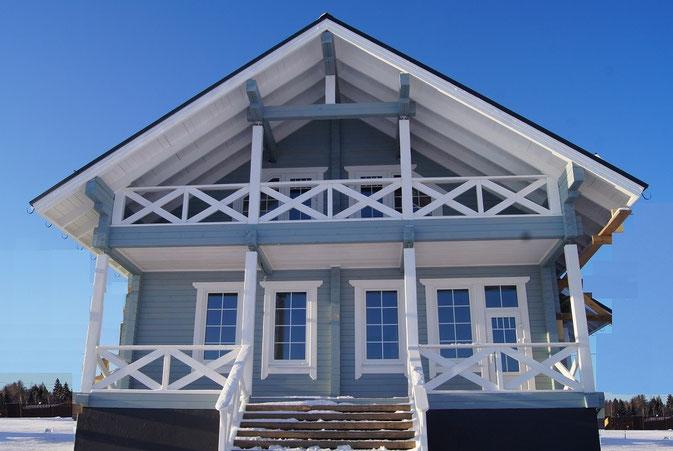 Строительство и продажа шале на Истринском водохранилище.