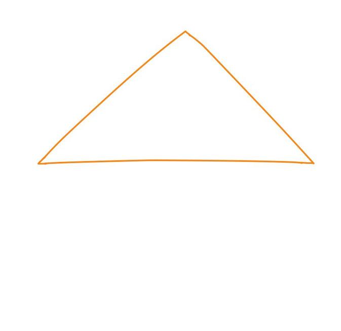 アイコン 「自宅」 (作: 塚原 美樹) ~ 三角屋根を描く