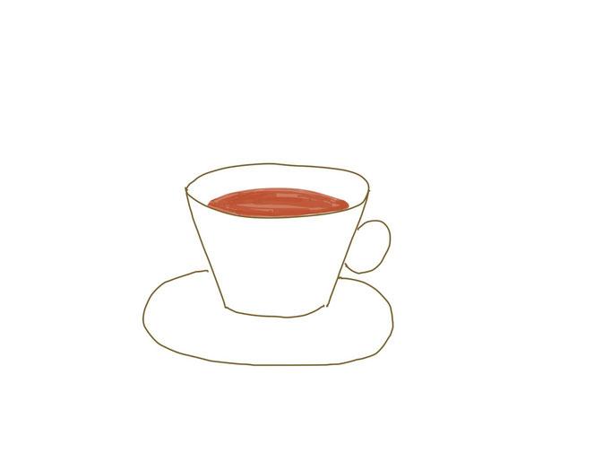 アイコン 「紅茶」 (作: 塚原 美樹)