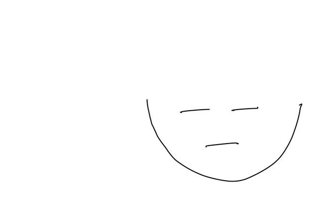 アイコン 「勉強」 (作: 塚原 美樹) ~ 顔の部分を描く