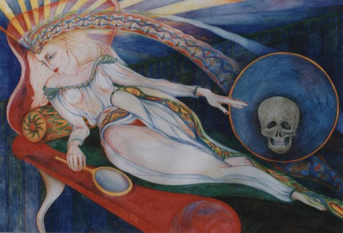 Schönheit zwischen Tod und Leben