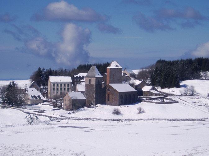 Chemin de Compostelle, voie du Puy : Aubrac