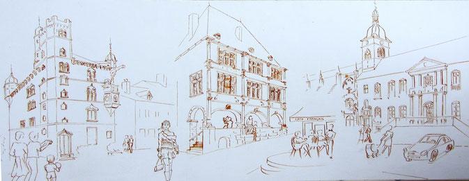 l'art dans la rue Luxeuil-les-Bains