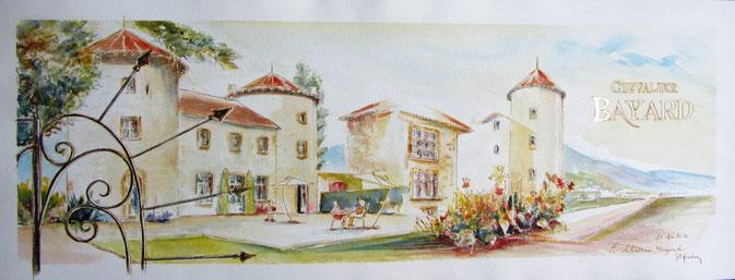 Bayard, château , Pontcharra
