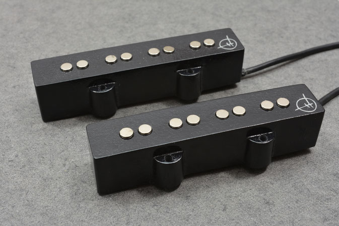 60's JAZZ MATCHED PAIR SINGLE COIL PICKUPS