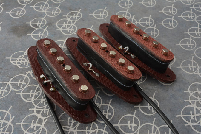 STRAT SINGLE COIL SET FOR 6 STRING GUITAR