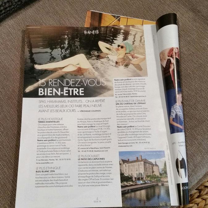 Magazine Elle Nantes