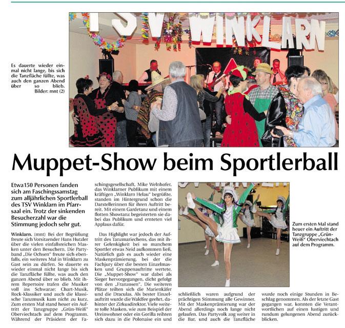 """Sportlerball 2017 mit der Partyband """"Die Ochsen"""""""