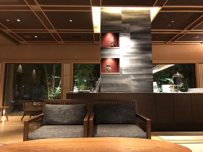 神戸ベイシェラトンホテルの湯上りラウンジ