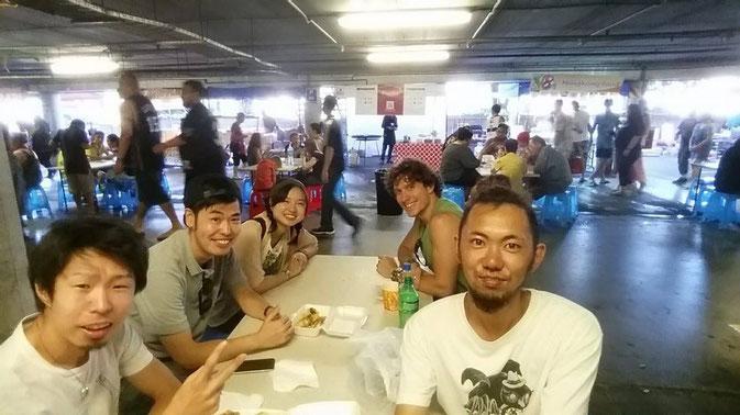 Une petite virée avec mes amis japonais!