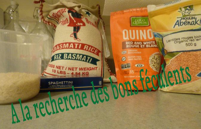 """Riz, légumineuses, pain, céréales, pâtes, sucres lents... mais que se cache derrière le terme de """"féculent""""?"""