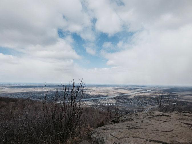 Au sommet du St-Hilaire.