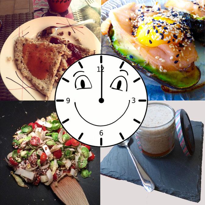 Trucs et astuces à propos des fameux cinq repas par jour.