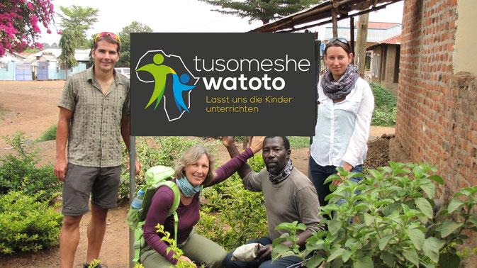 der Vorstand von tusomeshe watoto