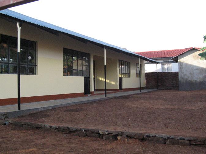 Das Kindergartengebäude in Tarime