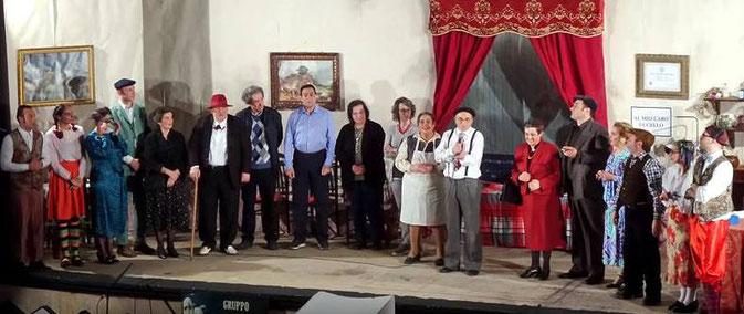 Rassegna Stampa Compagnia Teatrale i Frastornati - Il Teatro è vita! Viva il Teatro! I complimenti dei Frastornati al Gruppo Teatro Incontro