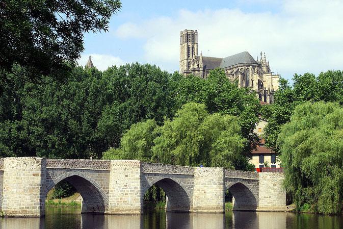 vue du pont Saint Etienne à Limoges