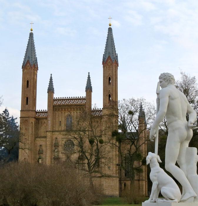 Kirche, Neustrelitz, Schlosskirche, Mecklenburgische Seenplatte