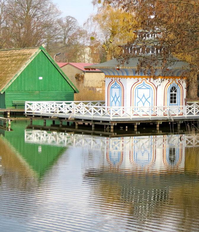 Zierke Zierker See, Neustrelitz, Wäschespülhaus