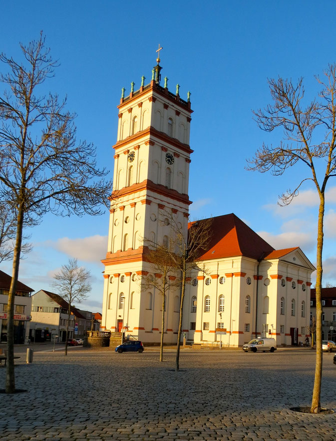 Kirche Neustrelitz Mecklenburger Seenplatte