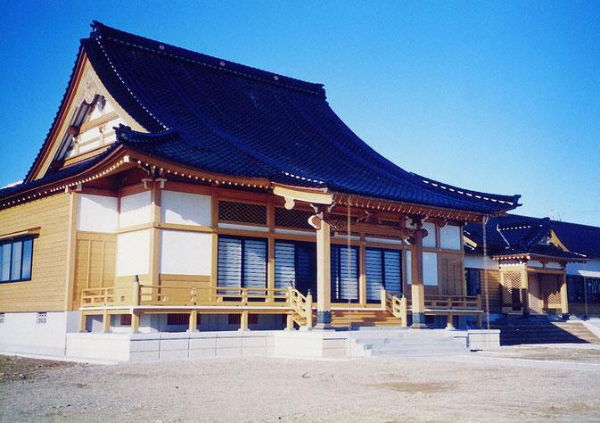 西教寺本堂(平成11年 羽咋市 滝町)