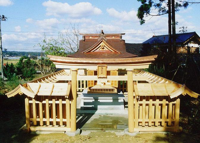 銀龍大神社(平成2年 七尾市 深見町)