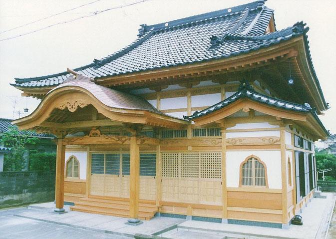 秋月庵(平成2年 かほく市 内灘町)